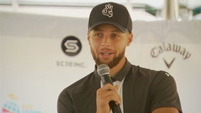 Steph Curry gives Howard University money for his second favorite sport: golf