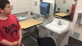'How is this OK?': Desk of boy with autism moved into bathroom of school by teacher, mom says