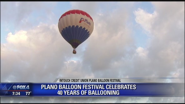 Plano Balloon Festival celebrates 40 years of ballooning
