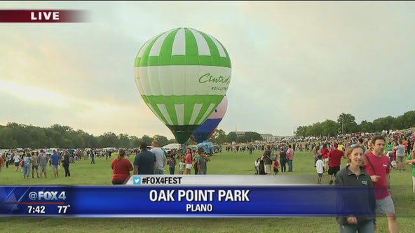 Plano Balloon Festival Day 2 Preview