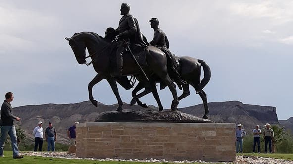 Robert E. Lee statue removed from Dallas finds new home in West Texas