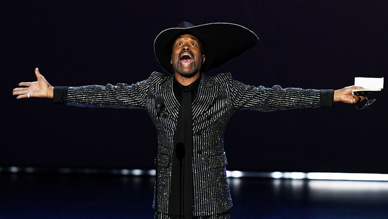 Billy Porter accepts the Outstanding Lead Actor in a Drama Series award for 'Pose' onstage during the 71st Emmy Awards