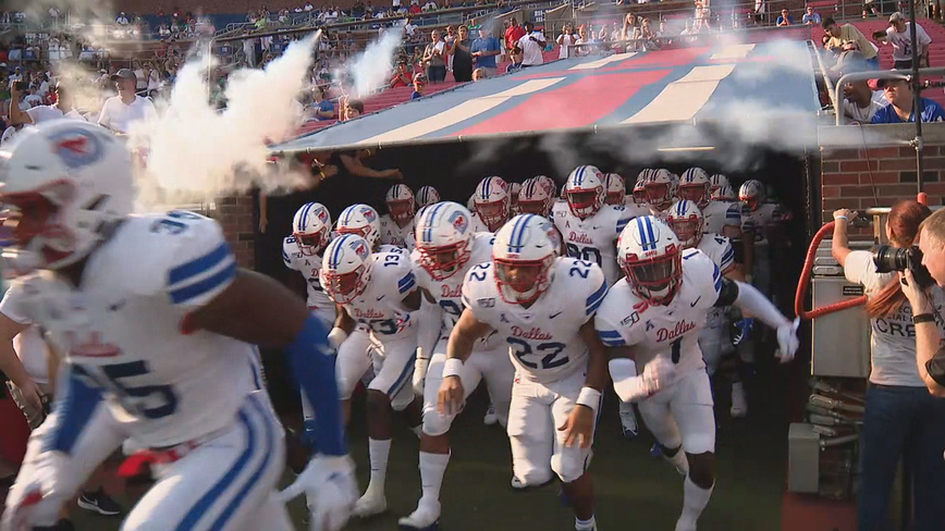 SMU at Texas State season opening game moved up one week to Aug. 29