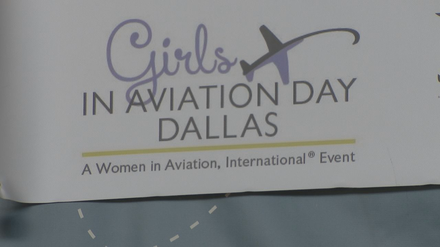 Thousands attend Girls in Aviation Day event held in Dallas