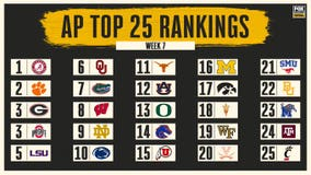 AP Top 25: SMU moves up to No. 21