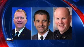 Frisco names three finalists for city's police chief; Gives residents chance to meet candidates