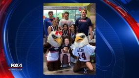 Allen Eagles help 3-year-old fan celebrate his birthday