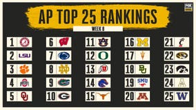 AP Top 25: LSU jumps to No. 2; OU moves to No. 5