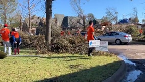 National groups, SMU students among volunteers cleaning up tornado damage