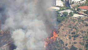 Fire crews get upper hand in Pacific Palisades fire