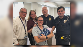 Arlington police say abandoned newborn 'doing great physically'