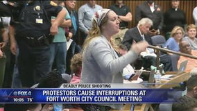 Protestors overflow first Fort Worth City Council meeting since Atatiana Jefferson's death