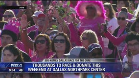 Komen Dallas Race for the Cure happening Saturday at Northpark Center