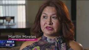 Marilin Mireles says Komen Dallas helped her with extra costs