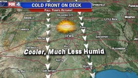 Cold Front Moves In!