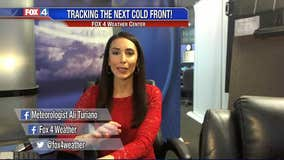 Here Comes The Next Cold Front!