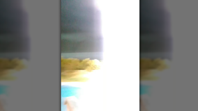 Celina woman nearly struck by lightning while on Facebook Live