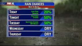 Rain Chance Increases Tonight