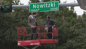 Street near American Airlines Center renamed Nowitzki Way