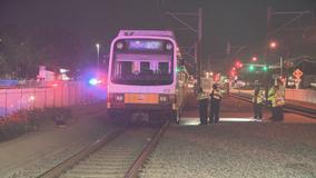 Man pinned under DART train near VA Medical Center Station