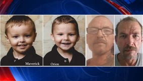 New Mexico police searching for young brothers who they say were taken taken by father