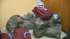 Organizations donating football equipment to Thomas Jefferson HS for homecoming game