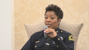 Dallas Police Chief Renee Hall says departments need to regain public's trust