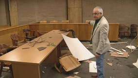 Northwest Dallas JP court office backlogged after tornado heavily damaged building