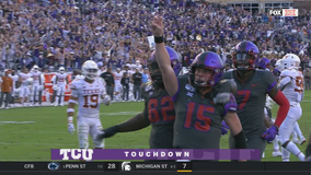 Freshman Duggan shines as TCU knocks off No. 15 Texas 37-27