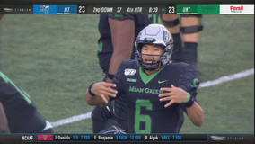 Mooney's walk-off FG lifts North Texas over Middle Tennessee