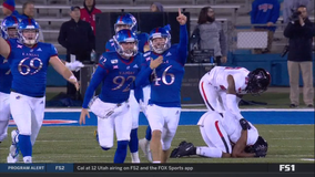 Late field goal propels Kansas to victory over Texas Tech