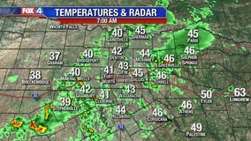 Cold, wet weather leads to gloomy commute in North Texas