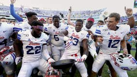 SMU transfers into Top 25 for 1st ranked game since 1986