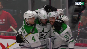 Seguin scores in OT, Stars beat Caps for 1st win of season