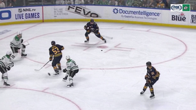 Olofsson sets rookie record in Sabres' 4-0 win over Stars