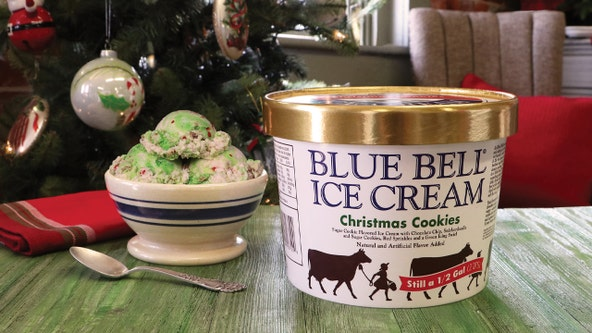 Christmas comes early as Blue Bell releases Christmas Cookies ice cream