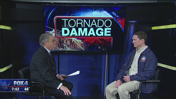 Dallas County Judge Clay Jenkins discusses tornado recovery
