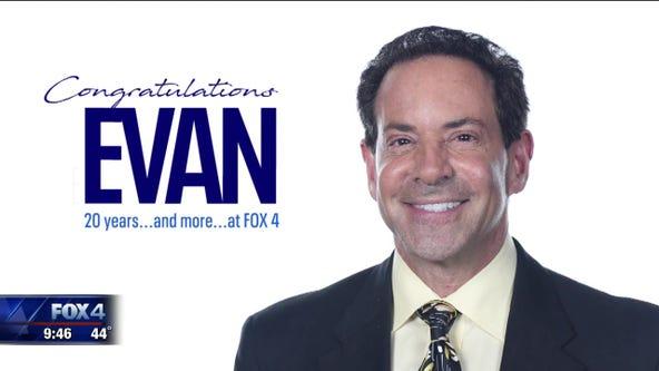 Evan Andrews celebrates 20 years at FOX 4