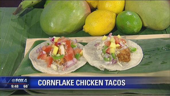 Cornflake Chicken Tacos