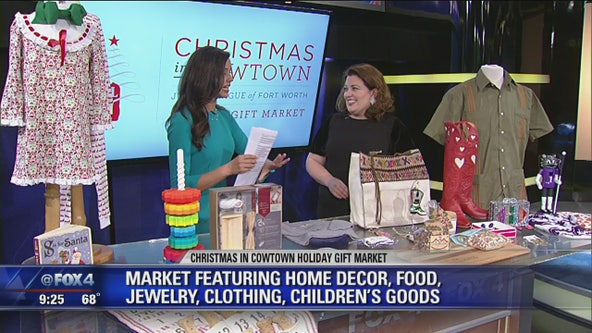 'Christmas in Cowtown' holiday gift market now open in Fort Worth