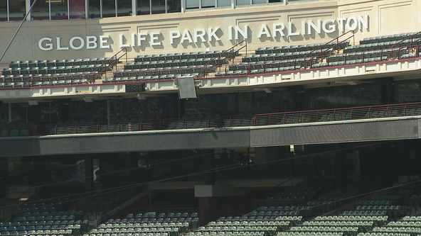 Seats to be added to convert Globe Life Park into a football field