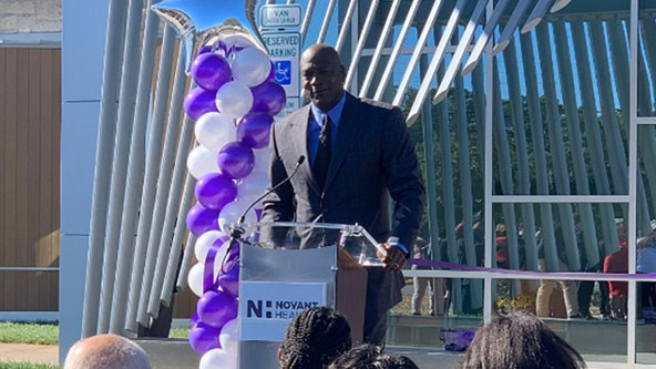 NBA legend Michael Jordan opens medical clinic for underprivileged patients in Charlotte