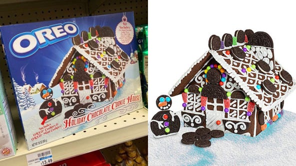 Step aside, gingerbread: Oreo unveils its own cookie house kit for the holidays