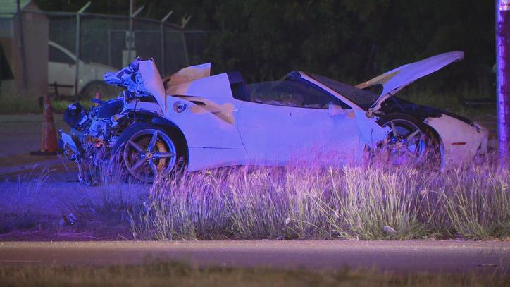 Man seriously hurt in Ferrari crash in Downtown Dallas