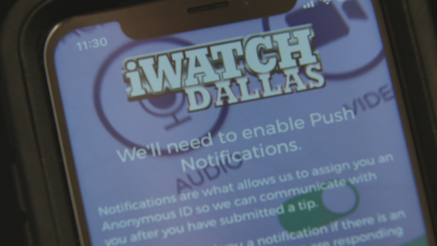Improved iWatch Dallas app makes it easier for residents to report crimes to Dallas PD