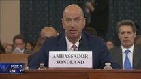 Gordon Sondland testifies in Trump impeachment hearings on Ukraine dealings