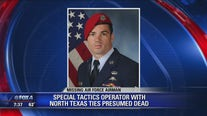Airman from North Texas missing after training exercise