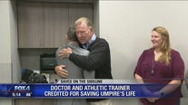 Melissa ISD athletic trainer, doctor credited with saving umpire's life