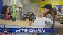 Dallas businesses reopen one month after tornado destroys previous locations