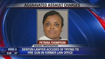 Denton lawyer accused of trying to fire gun in former law office